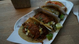 A full slap of tacos (+1 extra 'Al Pastor')