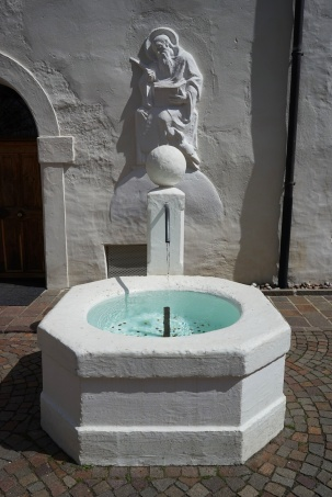 Fountain at Abbazia di Monte Maria