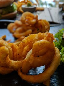Curly fries.